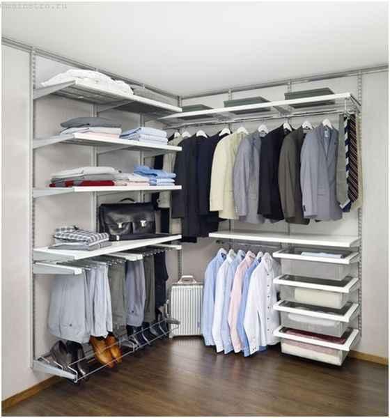 Разборная гардеробная комната