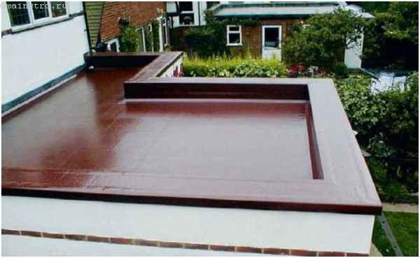 Плоская крыша: место для зоны отдыха