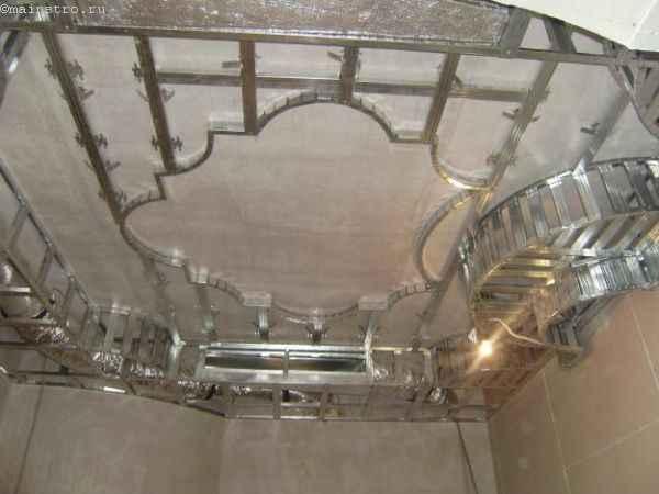 Каркас под многоуровневые натяжные потолки