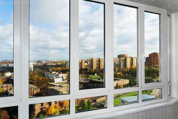 Пластиковый профиль для остекления балконов и лоджий