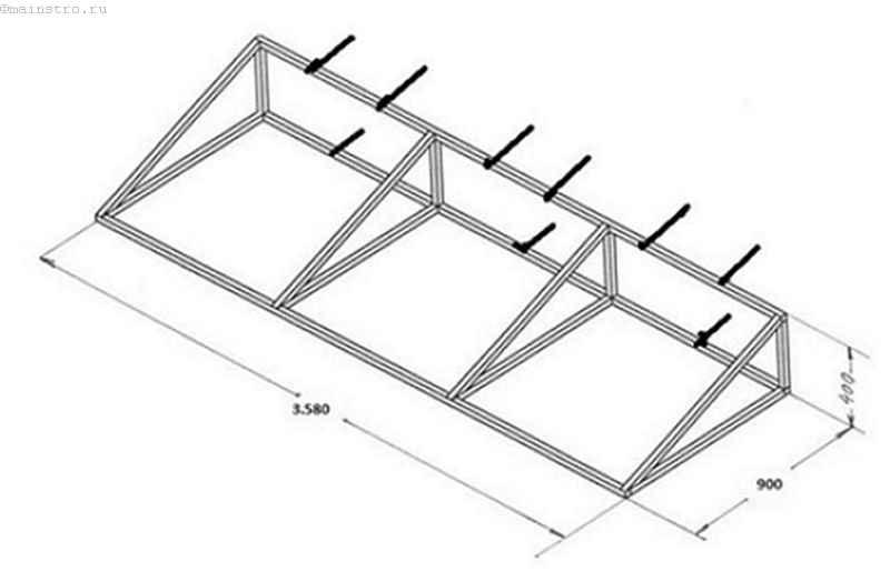 Балкон принцип изготовления.