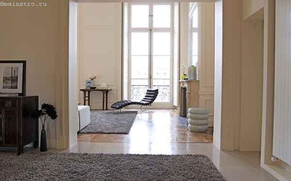 Фото: французские окна в квартире
