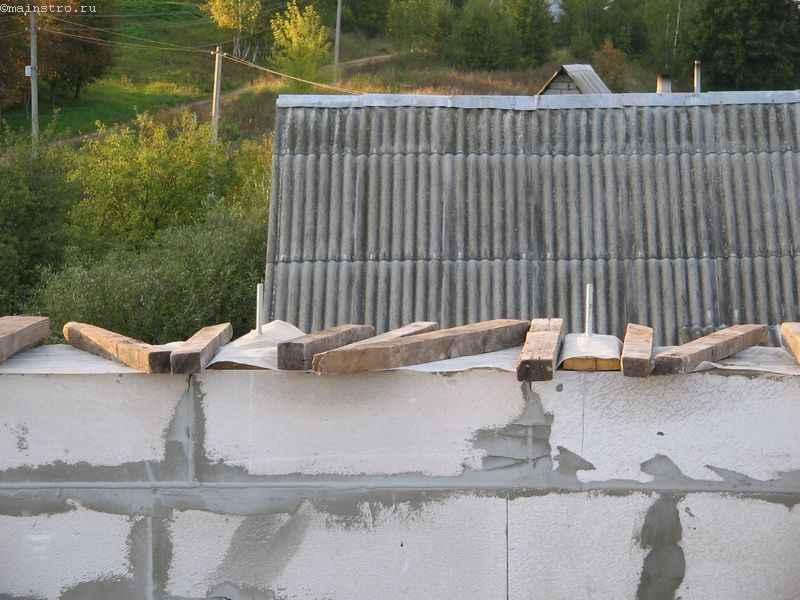 Накрытие бетона плёнкой