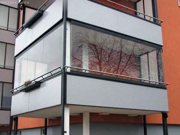 Безрамное остекление балкона или лоджии