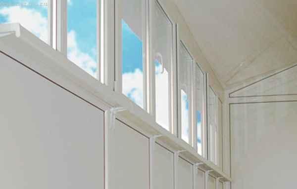 Металлопластиковое остекление балкона или лоджии