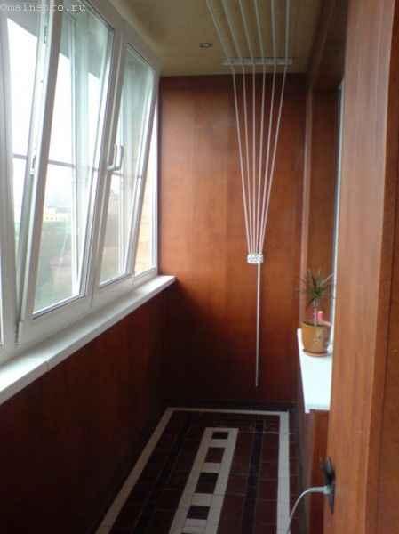 Фото остекления балкона - вид изнутри