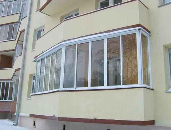 Фото ПВХ остекления балкона или лоджии