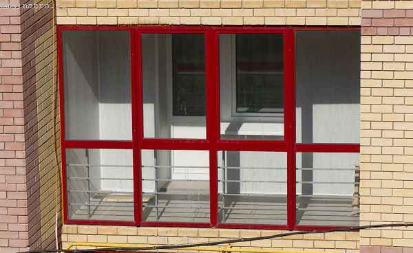 Остекление балкона профилем Provedal