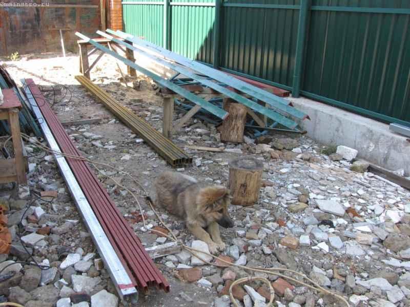 Металл для монтажа откатных подвесных автоматических ворот