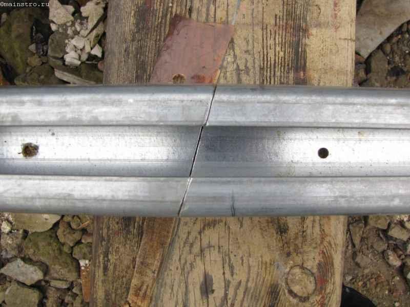 Профиле для кареток в откатных подвесных воротах