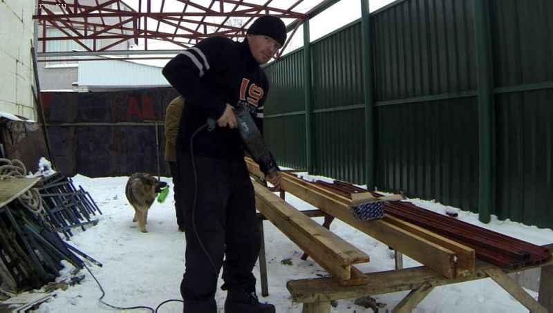 Делаем короба под металлочерепицу для навеса