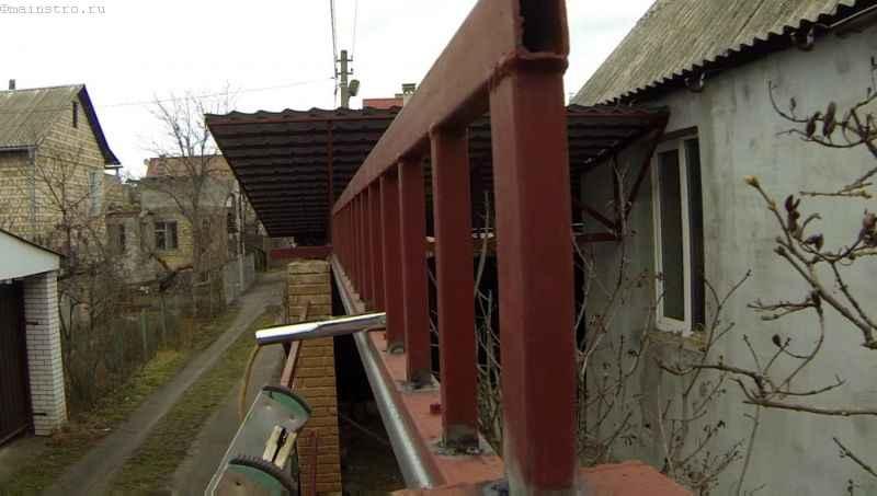 Ферма откатных подвесных ворот