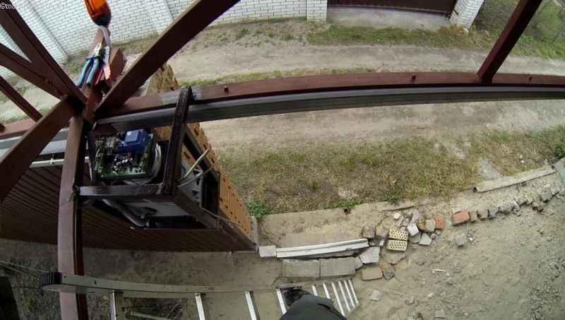 Настройка автоматики для подвесных откатных ворот