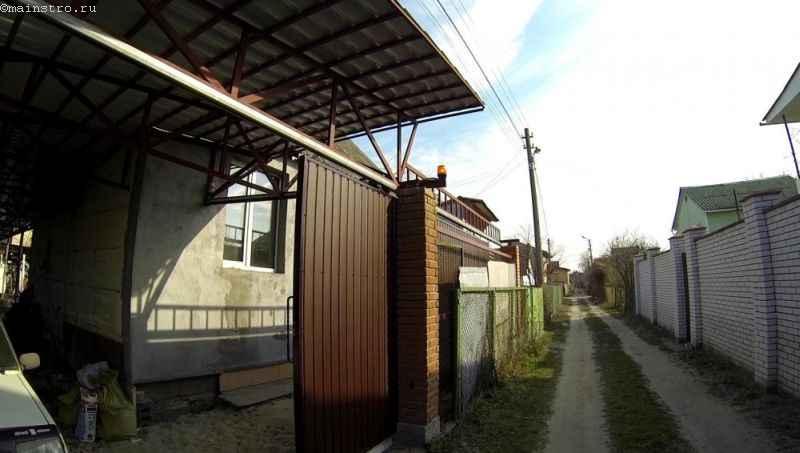 Проверка автоматики для подвесных откатных ворот