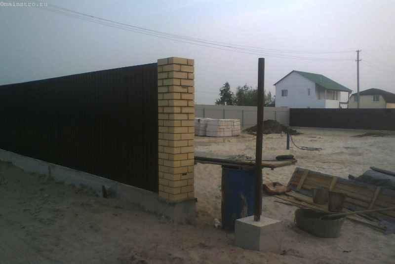 Как сделать забор с воротами и калиткой