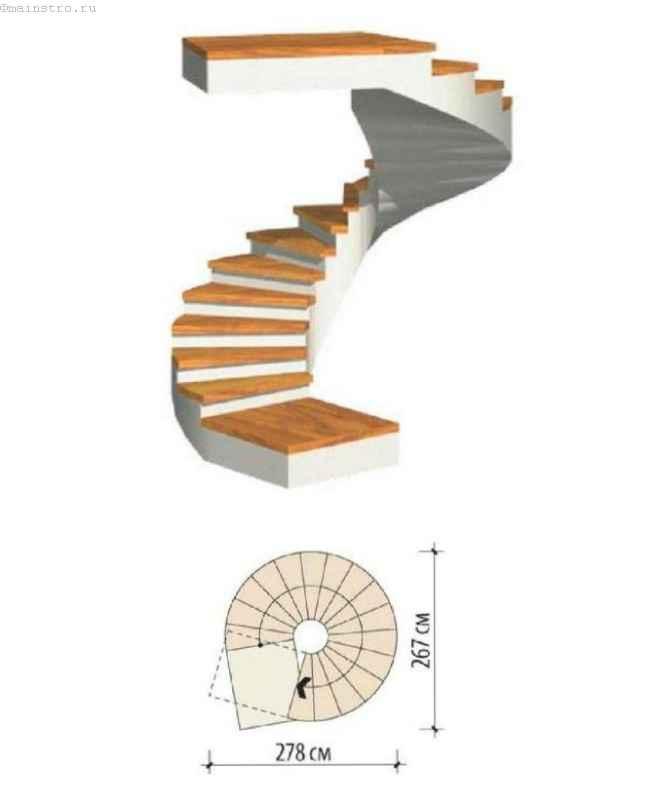 Лестница якоба своими руками схема