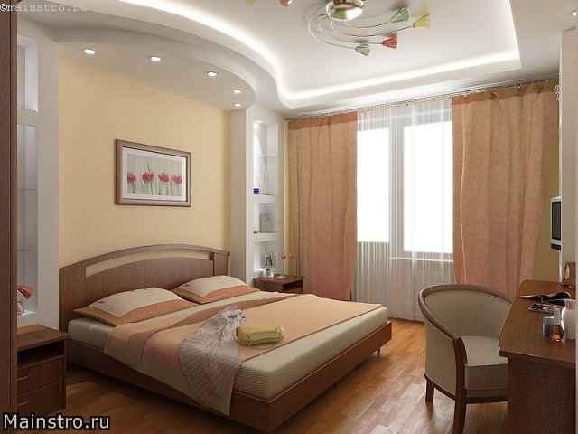 Дизайн в спальне варианты отделки