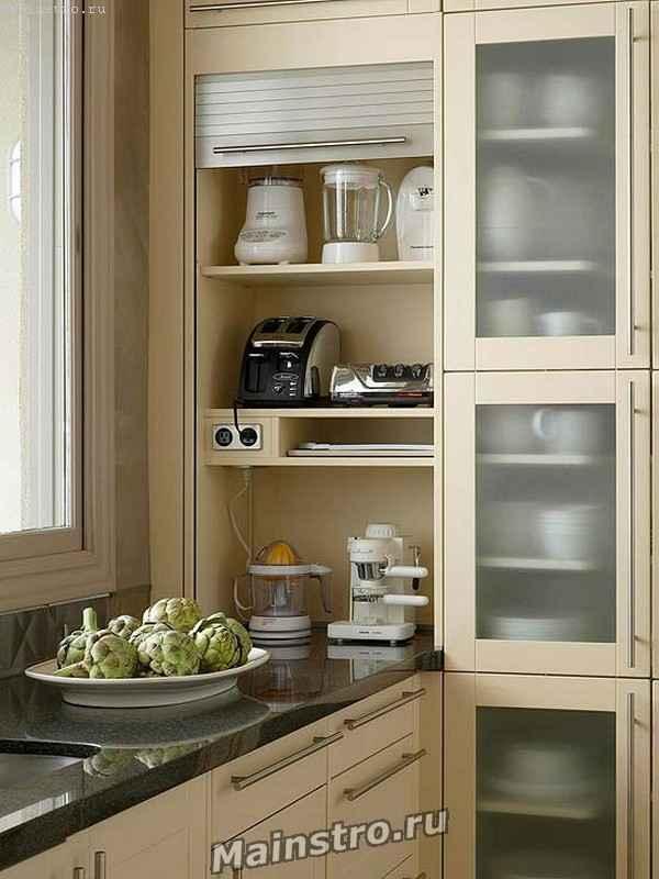 Помогите с идеей для кухни!проблема с углублением в стене и .