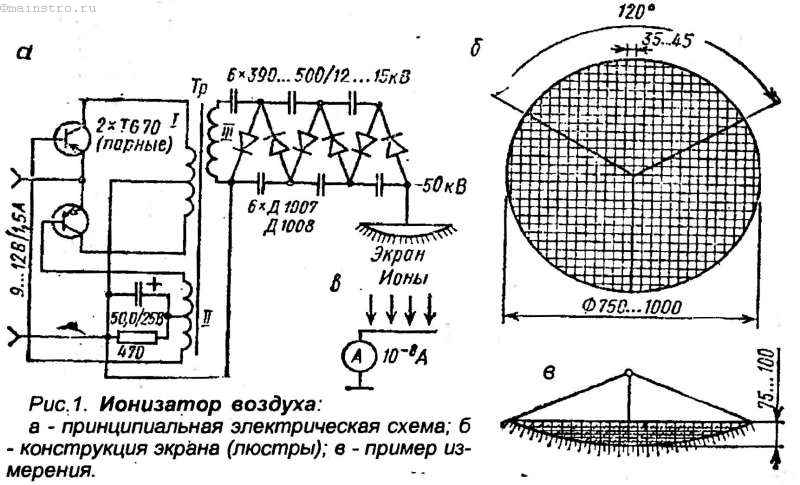 Озонатор схема для двс